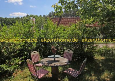 29456 Hitzacker - Sitzplatz im Garten