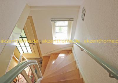 29456 Hitzacker - Treppe zum Obergeschoss